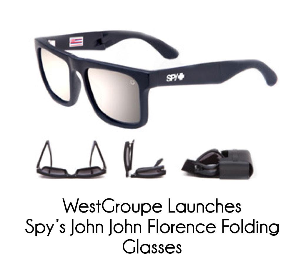 4cb8bc320a WestGroupe Launches Spy s John John Florence Folding Glasses