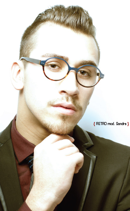 """c4c1642e16 Spectacle Eyeworks created the RETRO collection for men who like to make  fashion part of their look. """"I don t think the older generation identifies  with a ..."""